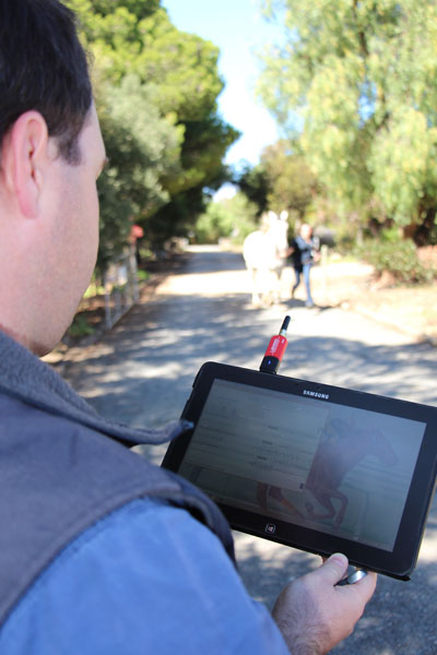 The new Lameness Locator – the only one in SA – assists in localisation of lameness